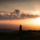 Sunset on Talkin Fell by RedGrouse
