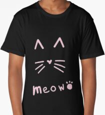 Meow Cat Long T-Shirt