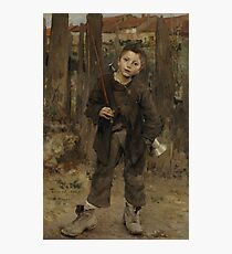 Nothing Doing 1882 Jules Bastien Lepage Photographic Print