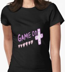 Game On Start Womens Fitted T-Shirt