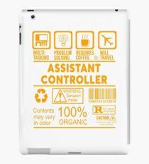 ASSISTANT CONTROLLER - SCHÖNES DESIGN 2017 iPad-Hülle & Klebefolie