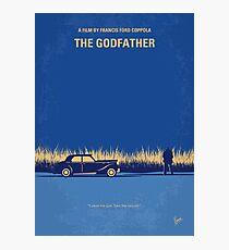 No686-1- Godfather I minimal movie poster Photographic Print