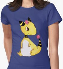 Ampharos Chibi Cartoon Watercolour  T-Shirt