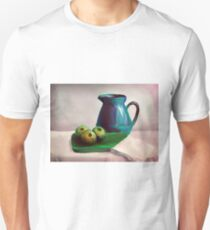 Painting illustration of still life with apples and pot Unisex T-Shirt