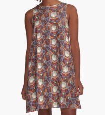 Mosaic A-Line Dress