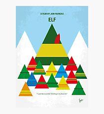 No699- ELF minimal movie poster Photographic Print