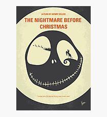 No712- The Nightmare Before Christmas minimal movie poster Photographic Print