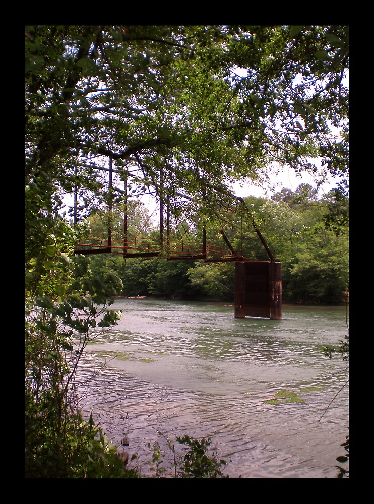 Rustic Bridge by MaryHelen