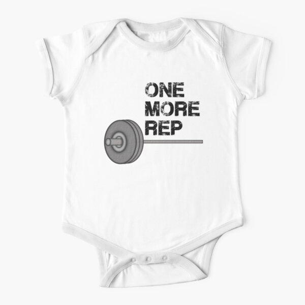 Una repetición más Body de manga corta para bebé