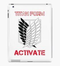 Titan Form Activate iPad Case/Skin