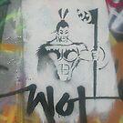 Graffiti Warrior by Rangi Matthews