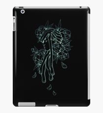 Flower Girl in Black iPad Case/Skin