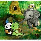 Dino & Panda Jungle Adventure by DinoPanda