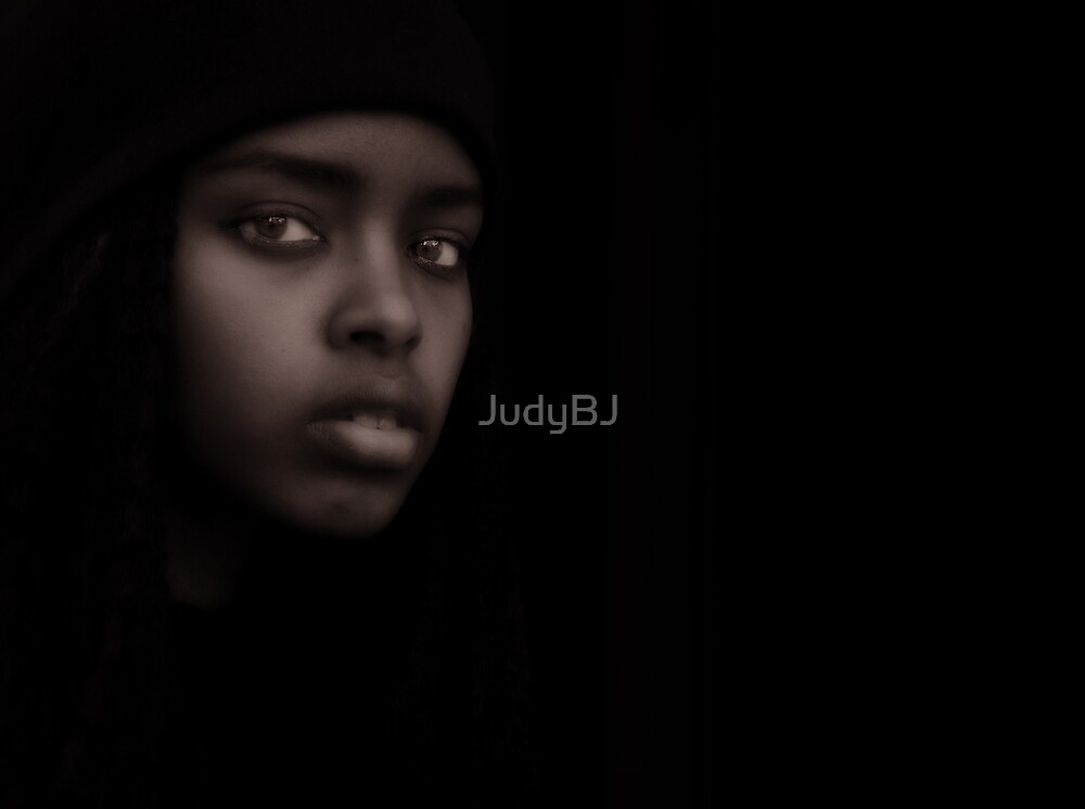 Low key portrait by JudyBJ