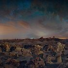 Exploring the Bisti Badlands of New Mexico by ArtOLena