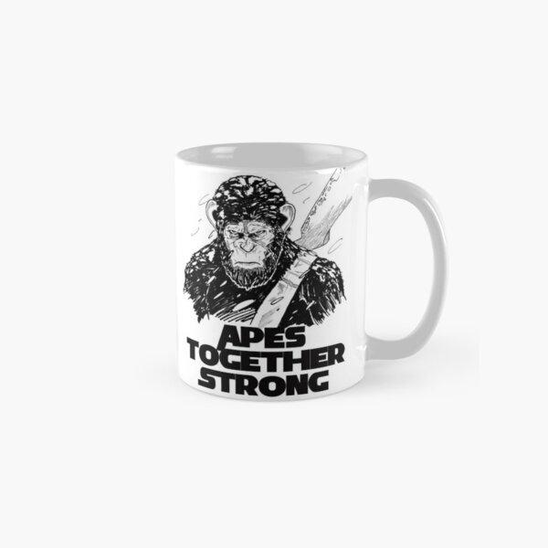 César: les singes ensemble fort Mug classique