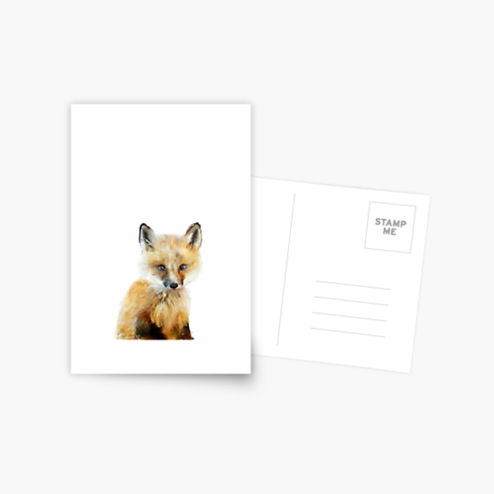 Little Fox Postcard