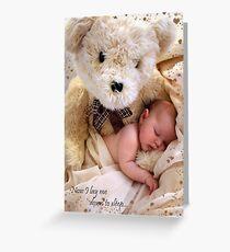 Teddy Bear Dreams Greeting Card