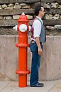 Man versus Fire Hydrant by deahna
