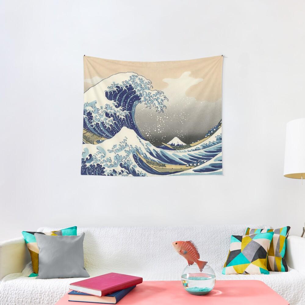"Hokusai (1760-1849) ""The Great Wave off Kanagawa"" Tapestry"