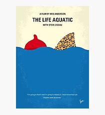 No774- The Life Aquatic with Steve Zissou minimal movie poster Photographic Print