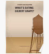 No795- Was Gilbert Grape minimal Filmplakat isst Poster