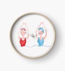 SIS SWIM Clock