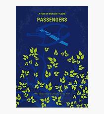 No803- Passengers minimal movie poster Photographic Print
