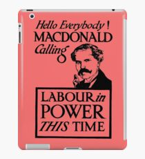 1923 ELECTIONS- LABOUR iPad Case/Skin