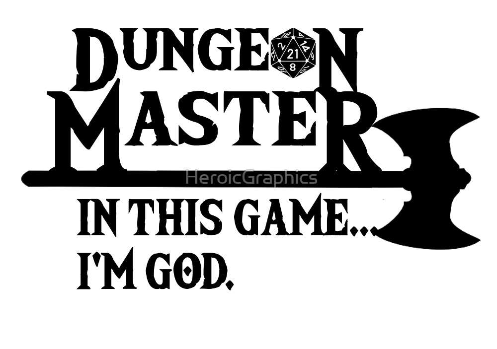 Master of Dungeons by HeroicGraphics