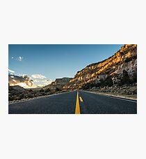 Route 12 - Escalante, Utah Photographic Print