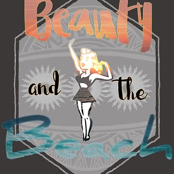 Beauty and the Beach Design by JennitechDesign