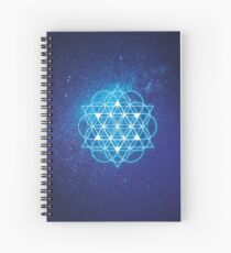Sacred Geometry Spiral Notebook