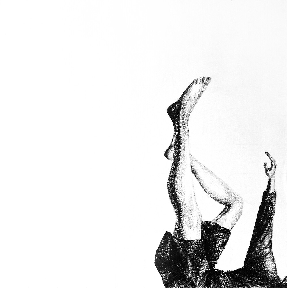 The end of the game, 2015, 50-50cm, graphite crayon on paper by oanaunciuleanu