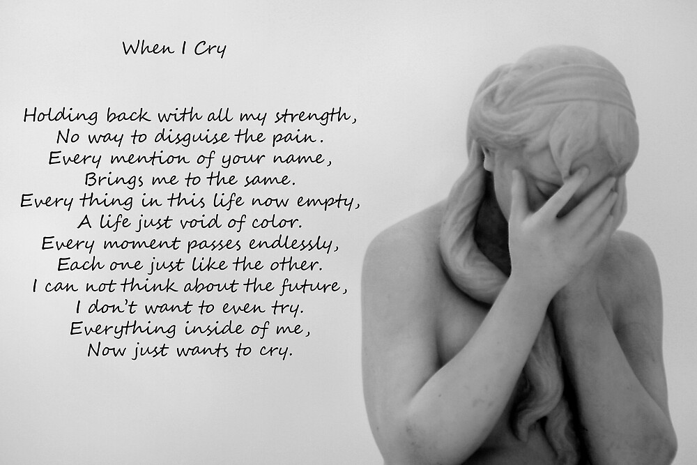 When I Cry by Carl Chalupa