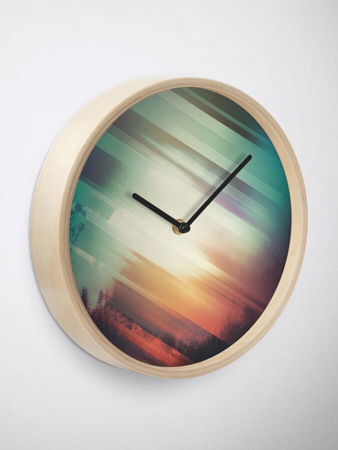 Alternate view of Fall Clock