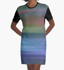 Northern Lights Graphic T-Shirt Dress
