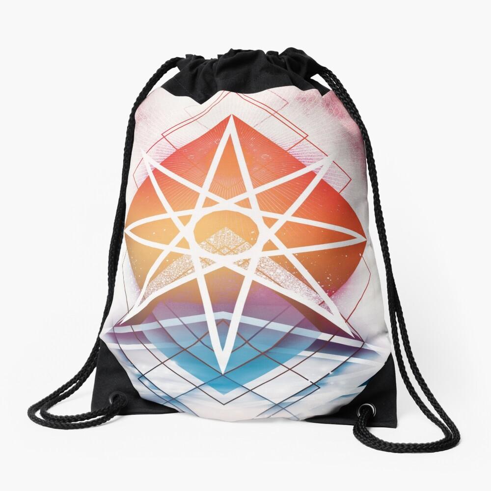 Eternal Road Drawstring Bag