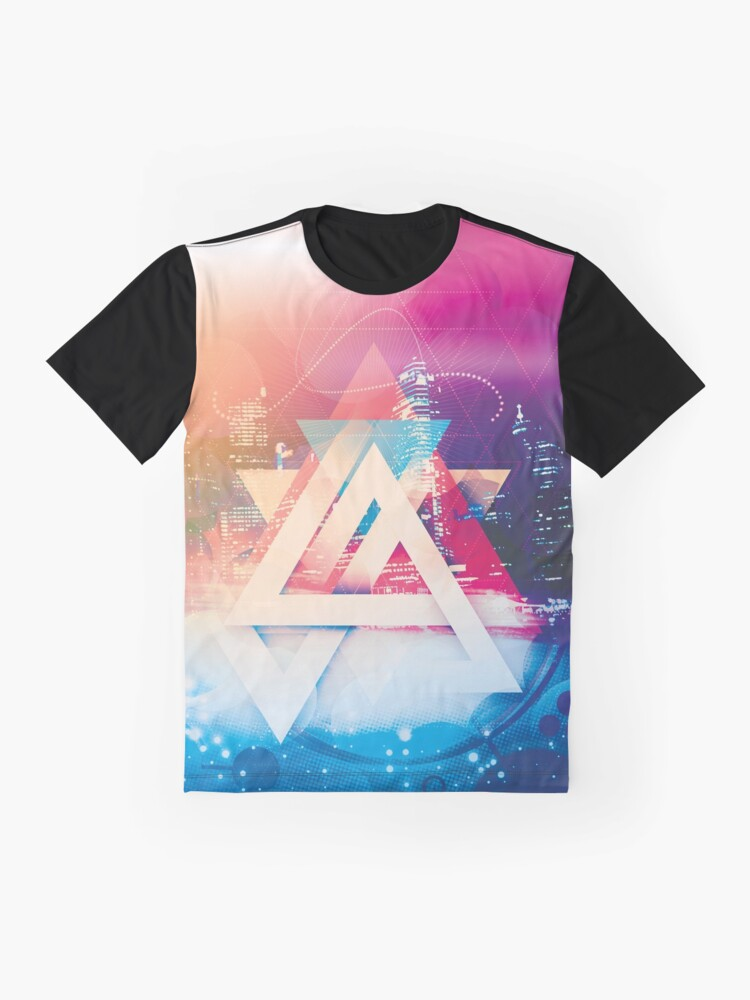 Alternate view of City of Lights Graphic T-Shirt
