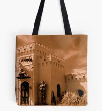 Castle By The Road Tote Bag