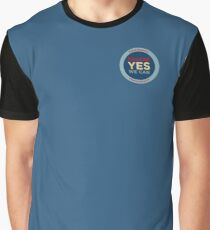 Pancre Yes We Can! Graphic T-Shirt