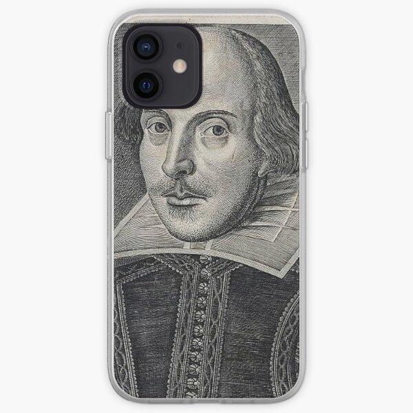 William Shakespeare Portrait iPhone Soft Case