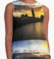 London skyline Contrast Tank
