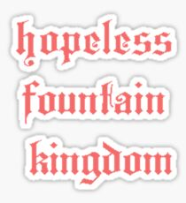 halsey - hopeless fountain kingdom Sticker