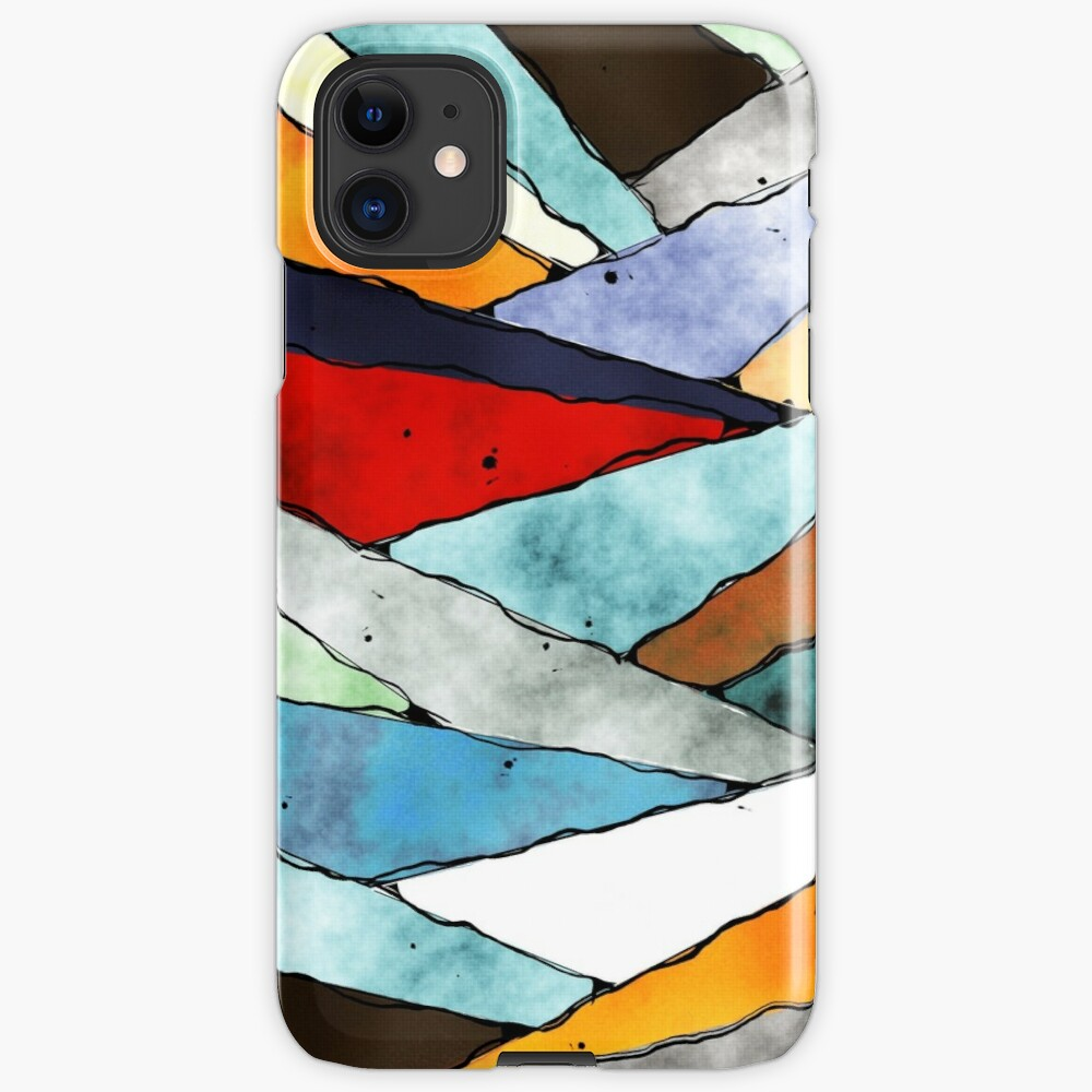 Angles of Textured Colors iPhone Case & Cover