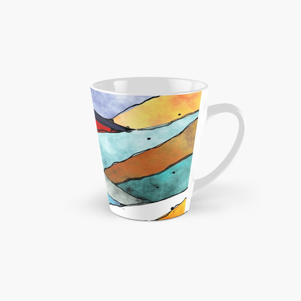 Angles of Textured Colors Mug