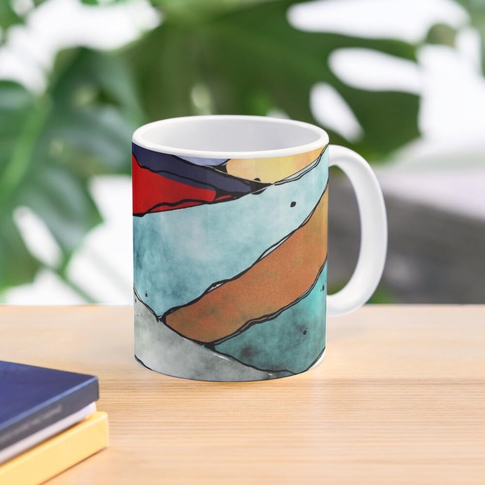 Angles of Textured Colors Mug