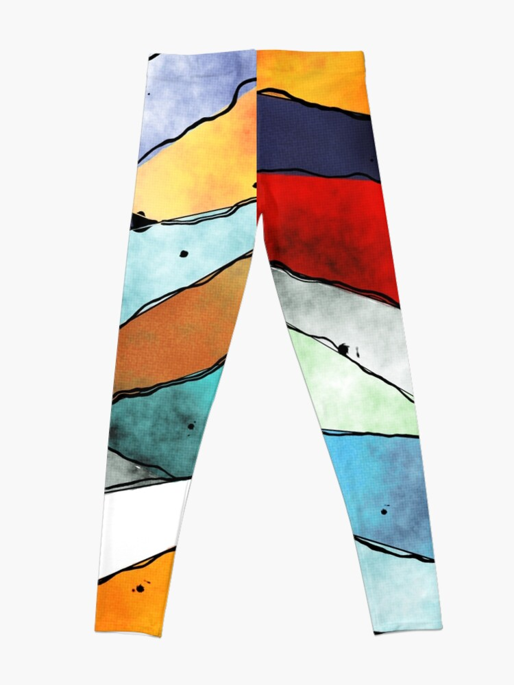 Alternate view of Angles of Textured Colors Leggings