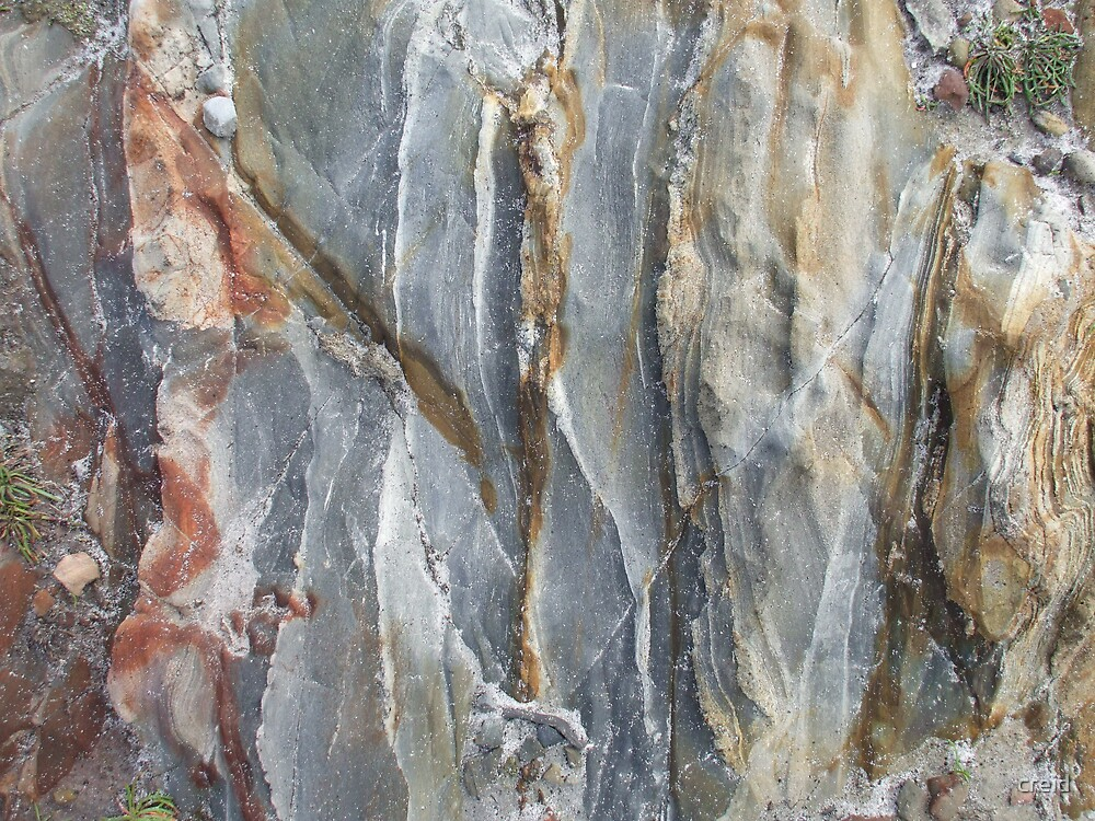 Marbled rock by creid