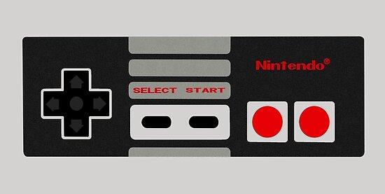 NES Controller by Eddie Camara